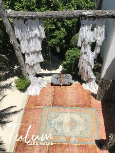 Pablo Escobar's old Mansion has been converted into a resort. The entry is pretty amazing with curtains made of wedding dresses. When you earn billion a year in cocaine you can have as many wives as you want haha Tulum Mexico, Pablo Escobar, Old Mansions, Travel Ideas, Haha, Tropical, Exterior, Curtains, Vacation