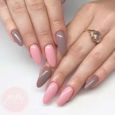 Lovely Designs for Almond Nails You Wont Resist ★ See more: https://naildesignsjournal.com/almond-nails-designs/ #nails