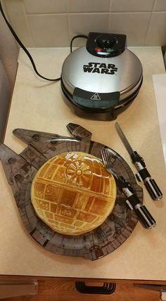 Star wars pancake un rêve pour mes enfants