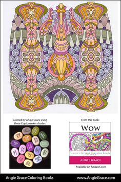 wow angie 39 s extreme coloring books volume 1 angie grace.html
