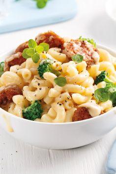 Confort Food, Hamburger Helper, Pasta Noodles, Orzo, Macaroni And Cheese, Food Porn, Good Food, Ethnic Recipes, Pizza