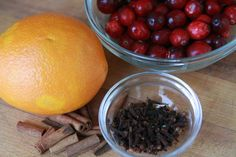 Recipe for the smells of the season stove-top potpourri...cinnamon, orange, spices. Or make and package as a gift for family, friends, neighbors...with link to gift packaging ideas.