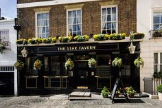 Recognised as one of the best pubs in Belgravia, The Star Tavern is an award-winning, traditional London pub.