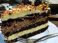 Domowe ciasta i obiady: Tort Orzechowy Milky Way