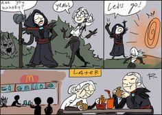 The Witcher 3, doodles 111 by Ayej.deviantart.com on @DeviantArt