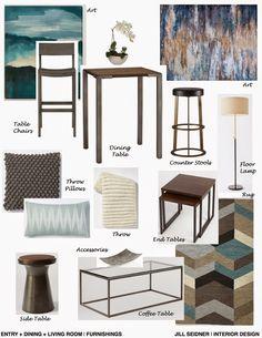 jill seidner | interior design: concept boards | organization