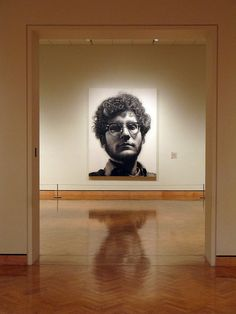 Chuck Close - Ahh my favorite piece at the MIA. Love it!