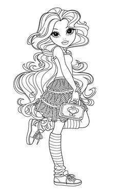 moxie-girlz-coloring-pages3 | Card Ideas – coloring pages | Pinterest