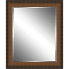 Found it at Wayfair - Country Wood Framed Beveled Plate Glass Mirror