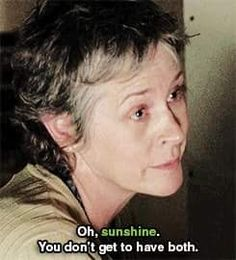 S5E16 Carol talking to Rick
