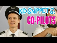 "Kid Snippets: ""Co-Pilots"" (Imagined by Kids) - YouTube. Voiced by kids, acted by dads. Too funny"