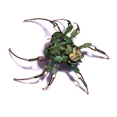 steampunk leaf spider