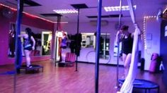 History - YouTube :Pole Aria class with trampoline workout