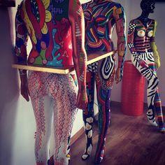 #shazequin #paintedmannequins #mannequins #porto #portugal