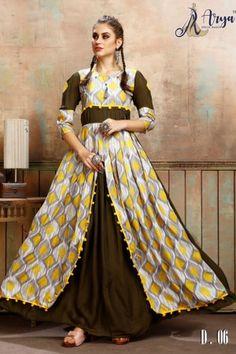 aryadress,maharani gown,designfull gown,fancy woman gown | Arya Dress Maker Designer Party Wear Dresses, Kurti Designs Party Wear, Designer Gowns, Dress Designs, Latest Gown Styles, Fancy Gowns, Lehnga Dress, Saree Wedding, Gown Wedding