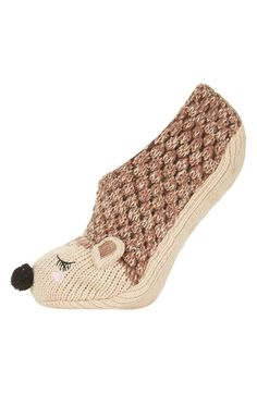 Topshop Hedgehog Slippers available at #Nordstrom