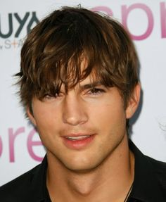 "Ashton Kutcher, proof that other people except Justin.B. can rock ""the bieb"""