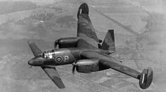 Libellula, a tandem-winged and twin-engined British experimental plane which gives the pilot an excellent view for landing on aircraft carriers ~ BFD Ww2 Aircraft, Aircraft Carrier, Military Aircraft, Passenger Aircraft, Tandem, P51 Mustang, Experimental Aircraft, Engin, Aircraft Design