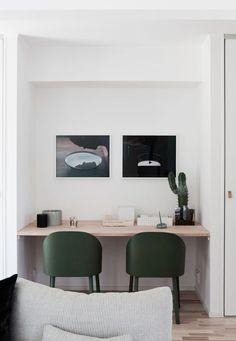 Se den skandinaviske indretning i nybyggeriet der med sit karakteristiske særpræg, skaber en overraskende effekt.