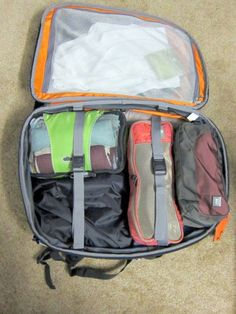 Q's Packing List:  8 weeks, in a carry on.  It can be done.