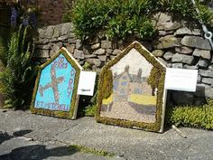 Endon well dressing, small boards.