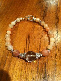 4th chakra bracelet heart chakra bracelet pink by DeniKaiDesigns https://www.etsy.com/shop/DeniKaiDesigns