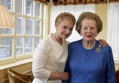 From jail, Tymoshenko writes about Margaret Thatcher's life and political impact.