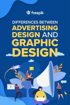 Advertising design and graphic design are two disciplines that can be easily confused with each other. Today, we cover the differences between them. Read to learn the differences! Business Marketing, Content Marketing, Online Marketing, Digital Marketing, Mobile Marketing, Inbound Marketing, Marketing Plan, Internet Marketing, Graphic Design Templates