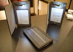 Solar powered Kindle case