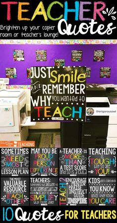 Quotes and Motivational Posters Classroom Decor Teacher Quotes: boost moral, encourage motivation, ignite inspiration! These quotes posters for teachers are the perfect way to brighten up your copier room or teacher's lounge.Lounge Lounge may refer to: Nelson Mandela, Classroom Motivational Posters, Quote Posters, Teacher Posters, Motivational Stories, Teachers Room, New Teachers, Education Quotes For Teachers, Teaching Quotes