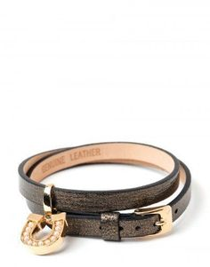 SPARTINA METALLIC SLIDE WRAP BRACELET