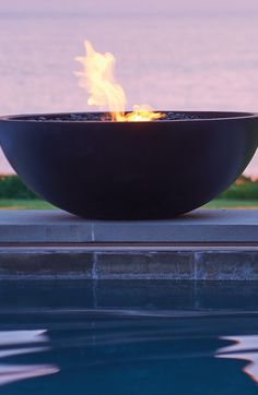 Add instant ambience and warmth to indoor or outdoor spaces with Mix Fire Bowls from EcoSmart Fire.