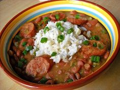 Louisiana red beans & rice