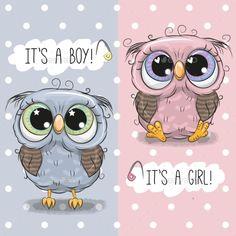 Buy Baby Shower Greeting Card with Owls by on GraphicRiver. Baby Shower greeting card with Cute Owls boy and girl Cute Cartoon Boy, Cartoon Giraffe, Cute Giraffe, Baby Cartoon, Cute Owl, Baby Shower Greetings, Baby Shower Greeting Cards, Baby Shower Templates, Baby Shower Invitation Templates