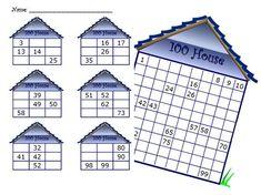 Dusti's 100 House - Math Coach's Corner