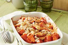 Süßkartoffel - Hähnchen - Auflauf 1