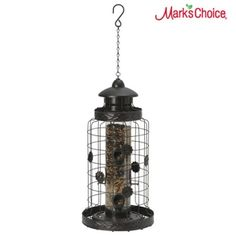 This #bird feeder is designed to attract your feathered friends, while keeping out squirrels.