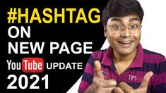 YouTube Hashtags Now In New Pages | YouTube New Update 2021 | YouTube Ha...