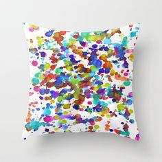 Garden Throw Pillow by Erin Jordan - $20.00