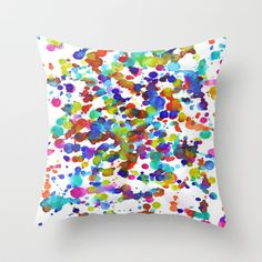 Garden Throw Pillow by Erin Jordan - $20.00