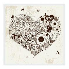 mandala coração tatoo - Pesquisa Google