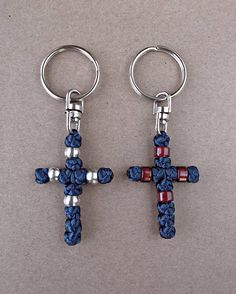 Komboskini Key ChainGreek OrthodoxCross Key ChainChristian