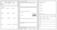 Avaliação de matemática para 4º ano: Operações de Números Decimais e Naturais, Desafios e Frações