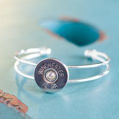 Bullet+Bracelet++Bullet+Jewelry++Silver+by+RicochetRounds+on+Etsy,+$19.95