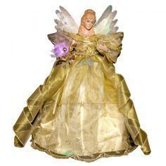 Almost futuristic, this Angel Tree Topper is devastatingly beautiful! Victorian Christmas Tree, Ghost Of Christmas Past, Angel Christmas Tree Topper, Christmas Tree Tops, Elegant Christmas, Christmas Pictures, Christmas Angels, Christmas Themes, Christmas Decorations