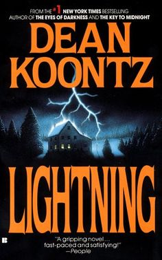 Lightning - Dean Koontz - read it until the cover fell off - bought another one..did it again.
