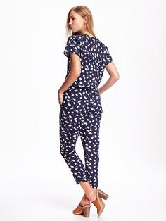 Patterned Jumpsuit for Women Product Image