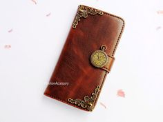 iphone 4 wallet case,clock pieces,Samsung S5 flip case,leather iphone 5 case,samsung note 3 pouch,Sony Xperia Z1,victorian iphone 4s cover on Etsy, $18.98