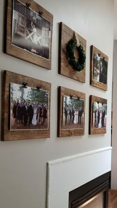If you are looking for Diy Pallet Wall Art Ideas, You come to the right place. Here are the Diy Pallet Wall Art Ideas. This article about Diy Pallet Wall Art Ide. Decoration Photo, Decoration Pictures, Ideas For Hanging Pictures, Hanging Pictures On The Wall, Hang Pictures, Stairwell Pictures, Wood Pictures, Frame Decoration, Home Decor Pictures