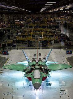 ➖ — rhubarbes: The Final F-22: 4195 by Lockheed...